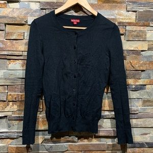 Merona (Target) Black button up cardigan